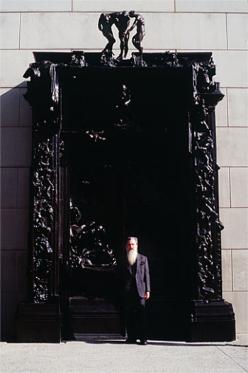 David Daniels with Rodin's Gates of Hell